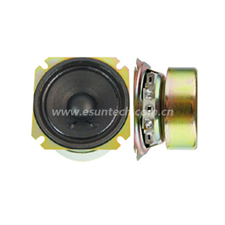 Loudspeaker YD66-18-4F50PT 2.5 Inch Best Mid Range Square Raw Audio Speaker Unit with Magnet Cover-ESUNTECH