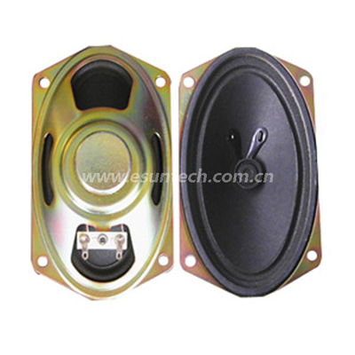 Loudspeaker YD813-2B-8N13.5U 77mm*128mm 813 TV Speaker Drivers, Tv Speaker Unit -ESUTECH