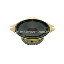 Loudspeaker YDZ100-09F-8F70P 4 Inch 102mm square loudspeaker Drivers china audio speaker unit manufacturer -ESUTECH