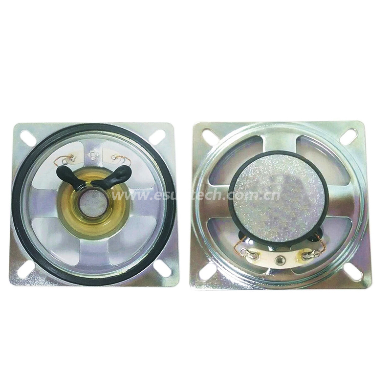 Waterproof Speaker 66mm YD66-52-45F32M-R 45 OHM Loudspeaker Drivers-ESUNTECH