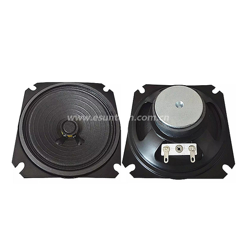 Loudspeaker 87mm YD87-12-8F40P-R Min Full Range Equipment Speaker Drivers-ESUNTECH
