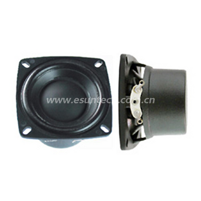 Loudspeaker YD50-25-8N18PU 2 Inch 50mm Plastic Sheel Square Waterproof Speaker Drivers-ESUTECH