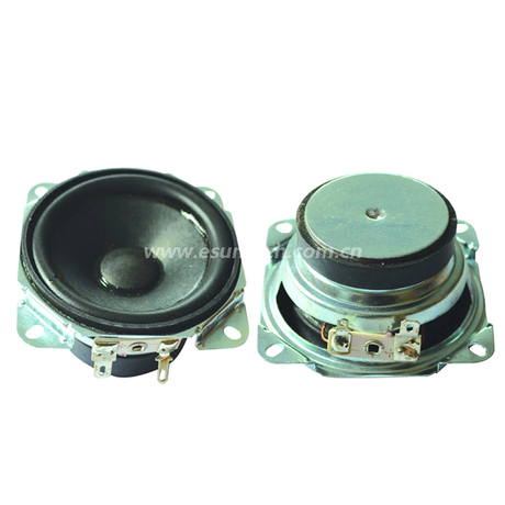 Loudspeaker 66mm YD66-38-4F45P-R Min Full Range Multimedia Speaker Drivers-ESUNTECH